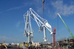 Istallazione Nuovo braccio di carico prodotti - 2
